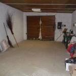 Теплый гараж пристроен к дому